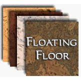 Natural Cork Floating Floors
